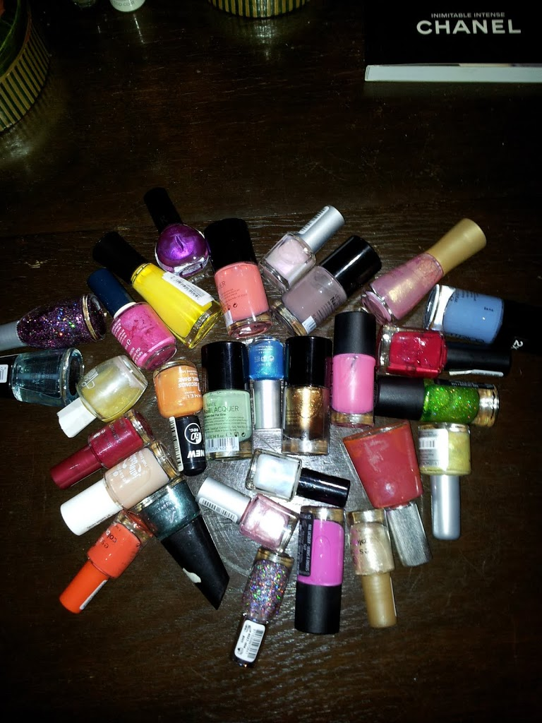 nailpolish haul stash