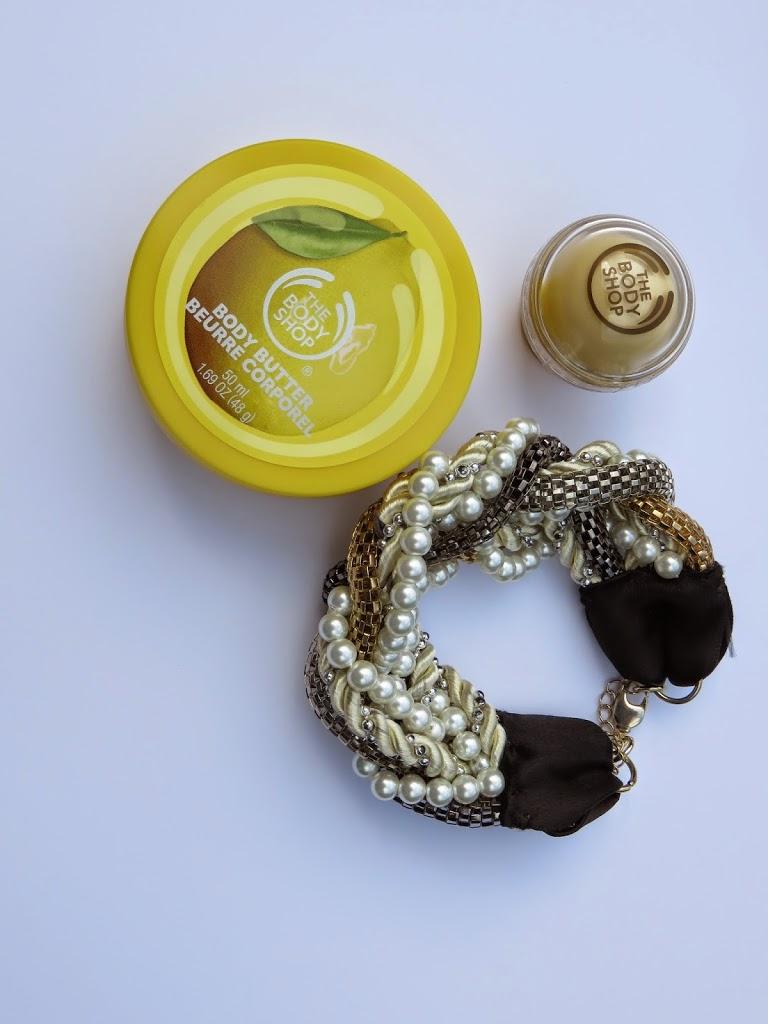 winactie winnen meedoen challenge armband the body shop body butter lipbalm lippenbalsem