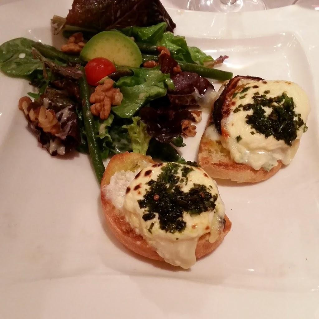 warme geitenkaas restaurant aux iles marquises parijs