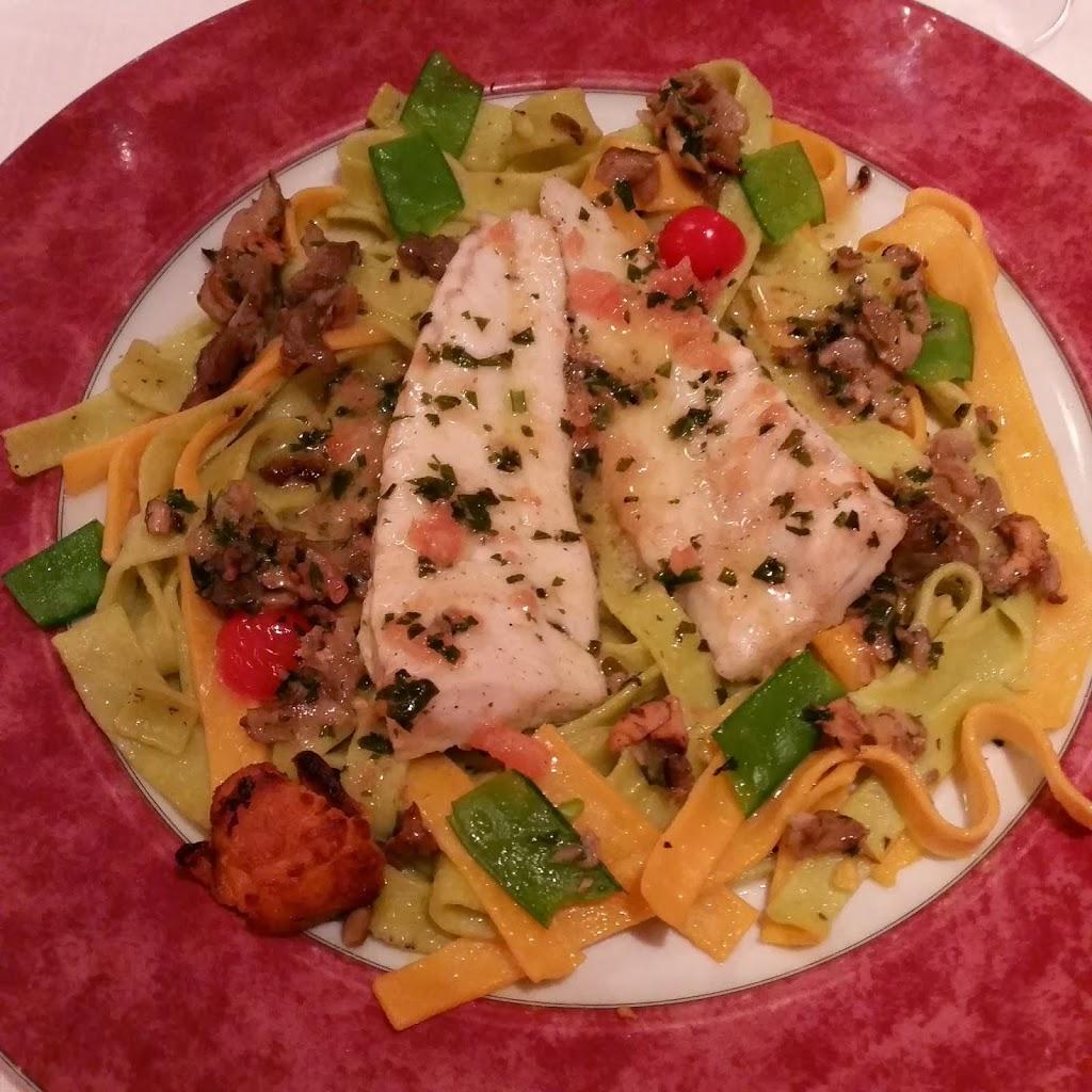 zalm verse pasta restaurant aux iles marquises parijs
