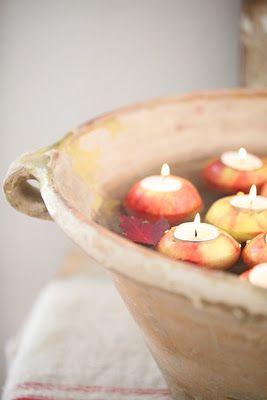 appels apples diy homedecor interieur herfst autumn fall
