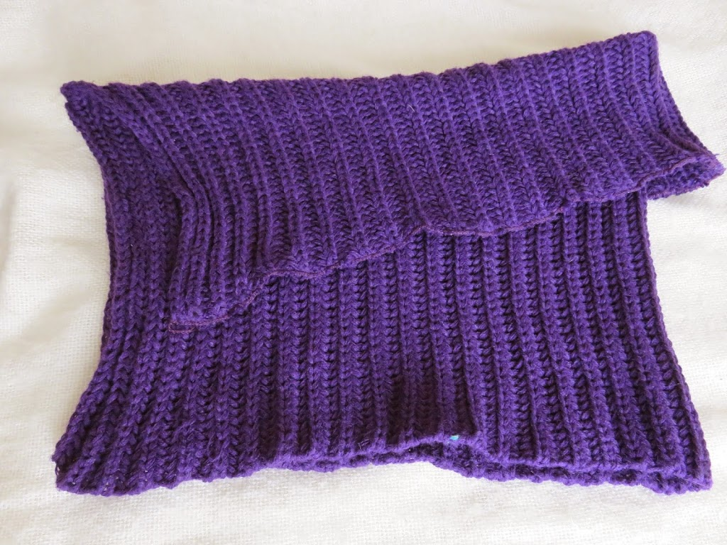 purple scarf shoulder wrap