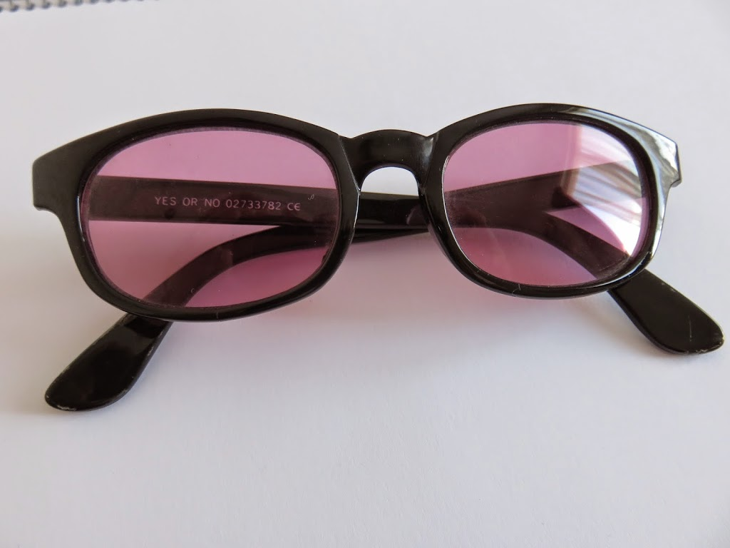 fashion pink sunglasses