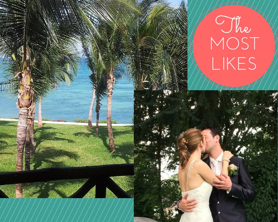 collage most likes instagram mrsstilletto wedding honeymoon zanzibar