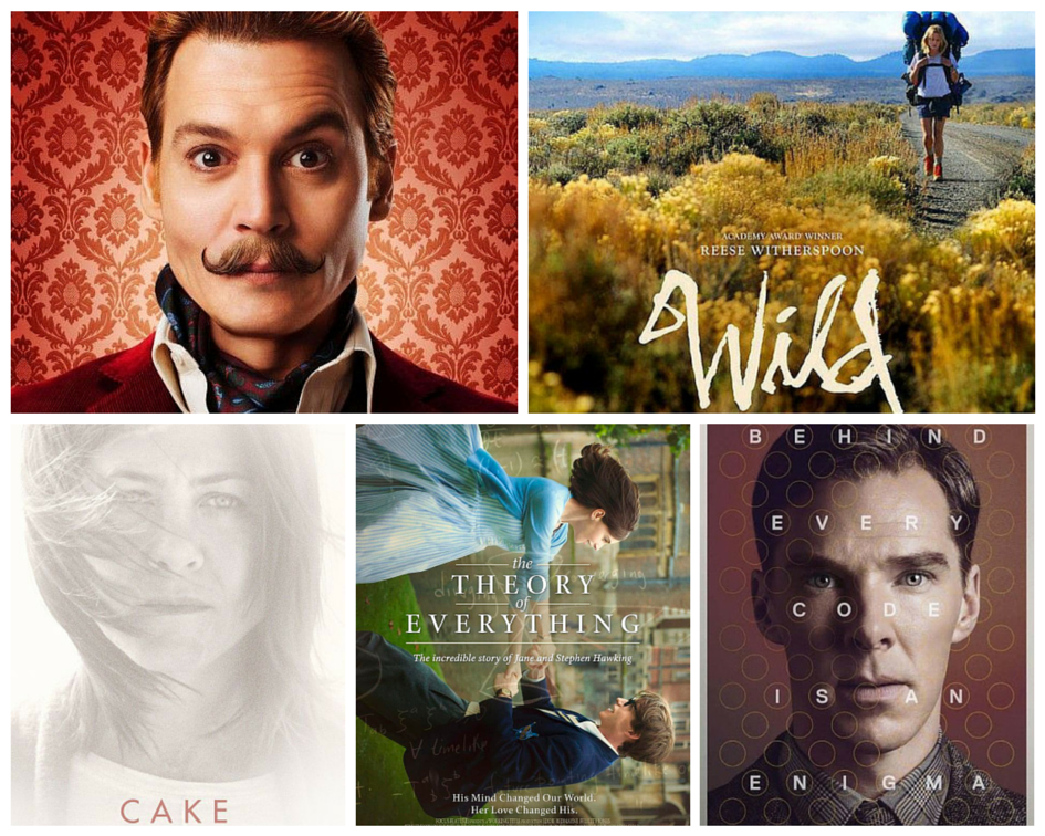 must see film 2015 mortdecai wild cake the theory of everything the imitation game