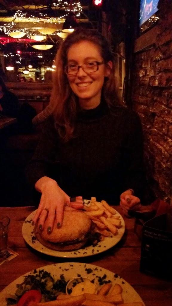 walkabout breda restaurant hamburger #selfie