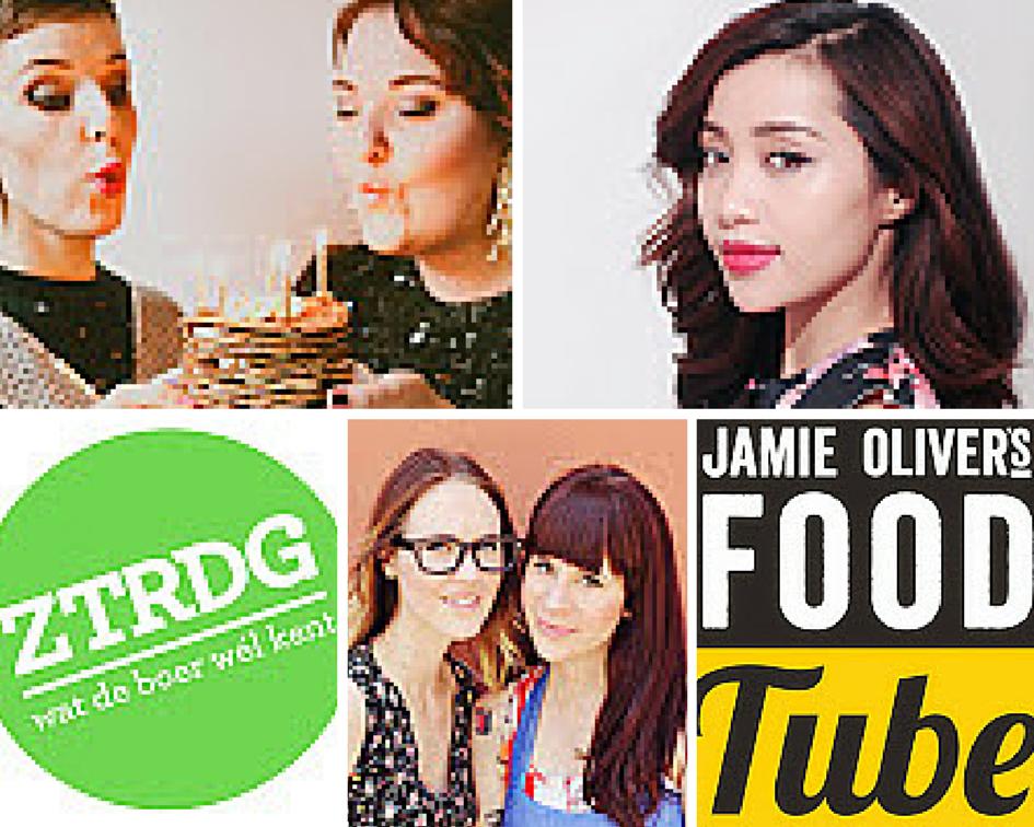 collage de groene meisjes michelle phan ZTRDG a beautiful mess jamie oliver food tube