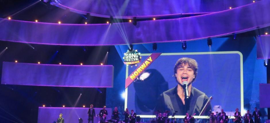 Eurovision Songfestival Singalong 2015 Alexander Rybak Fairytale