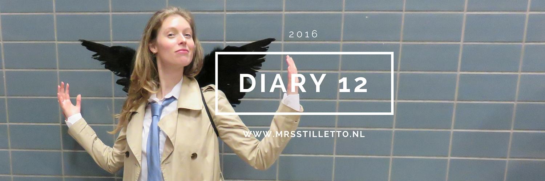 Diary 2016 Week 12