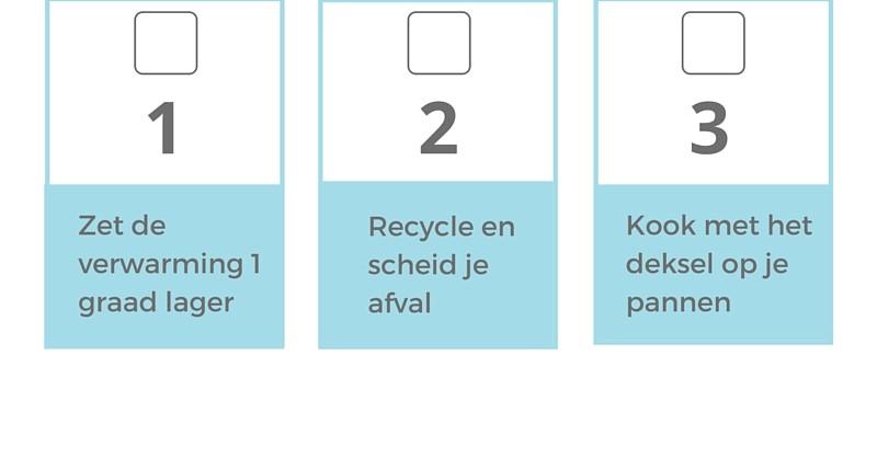 Voorbeeld Free Printable DUURZAAM 5 tips die je nu kunt toepassen