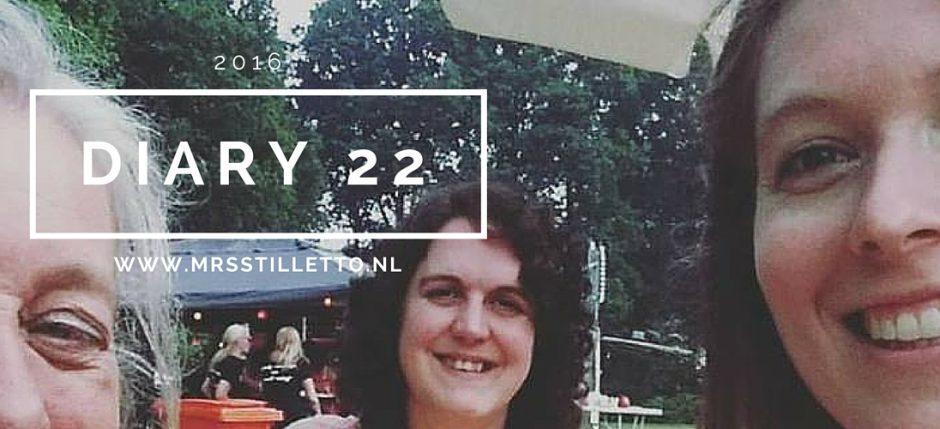 Diary 2016 Week 22
