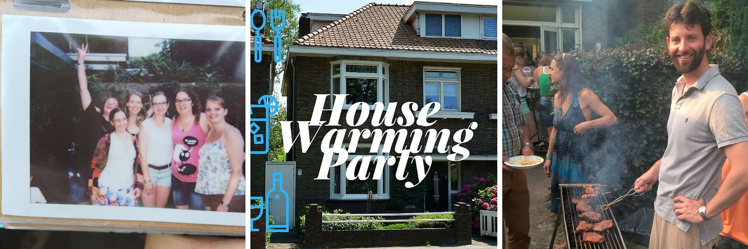 DIARY 2016 - Week 29 - housewarming party
