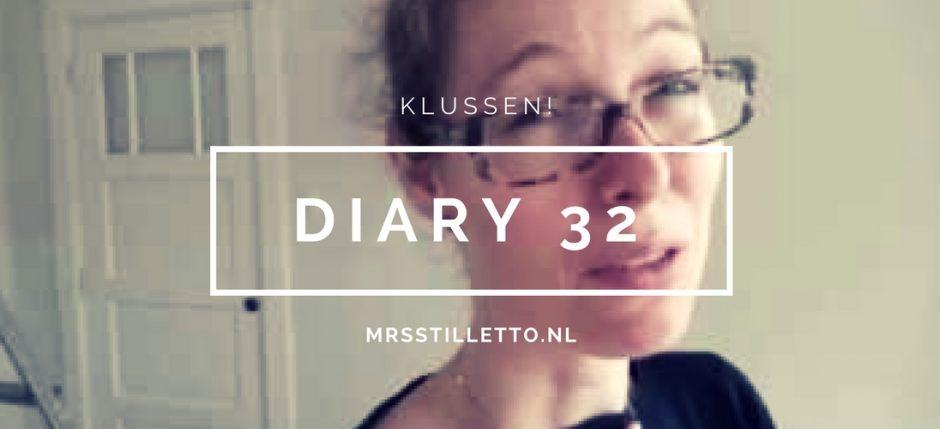 DIARY 2016 Week 32 klussen