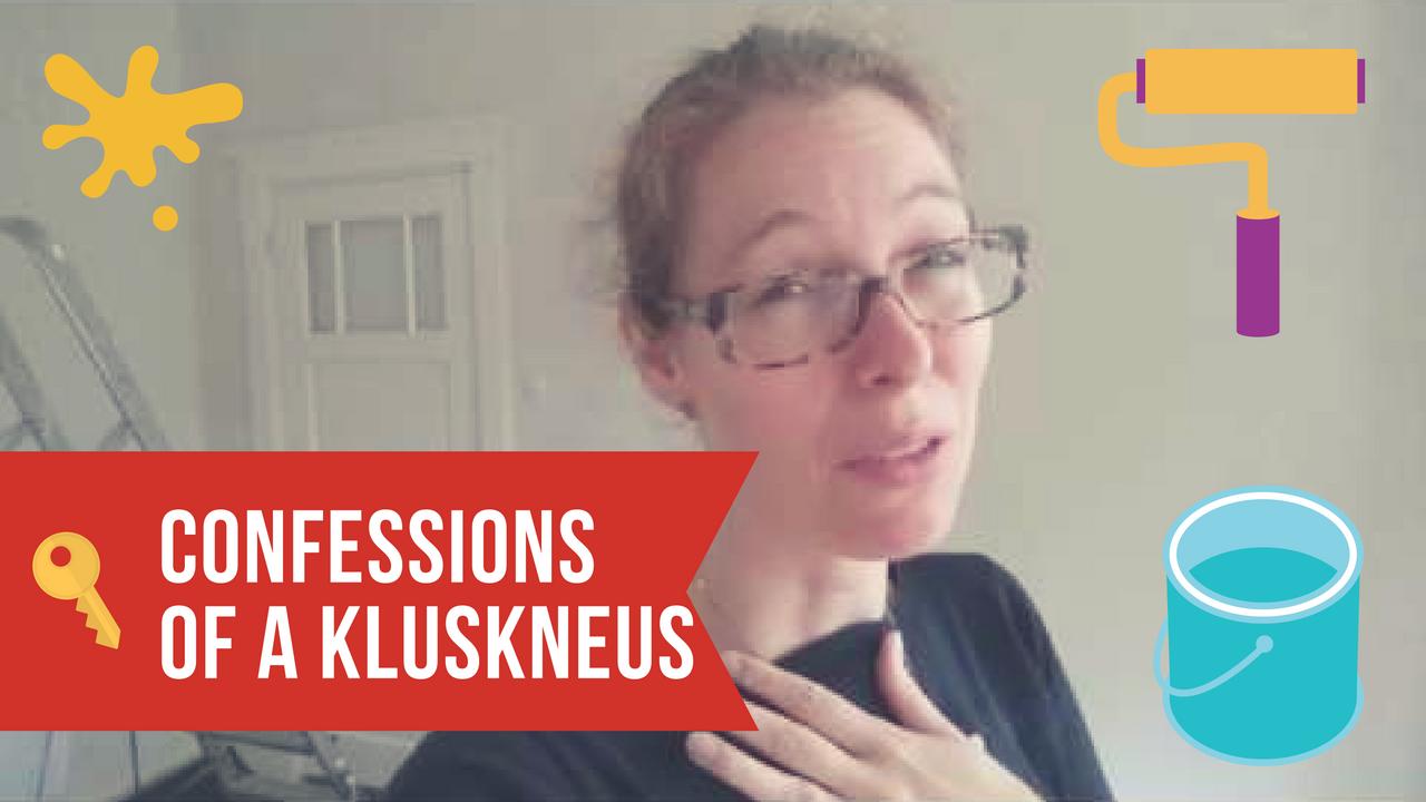 VLOG Confessions of a kluskneus