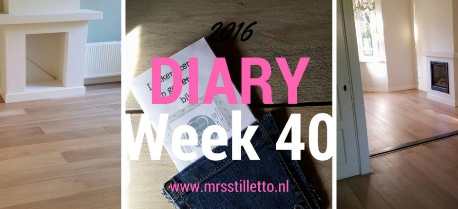 diary 2016 week 40 weer zen worden
