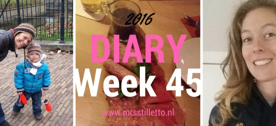 diary week 45 family always has your back home