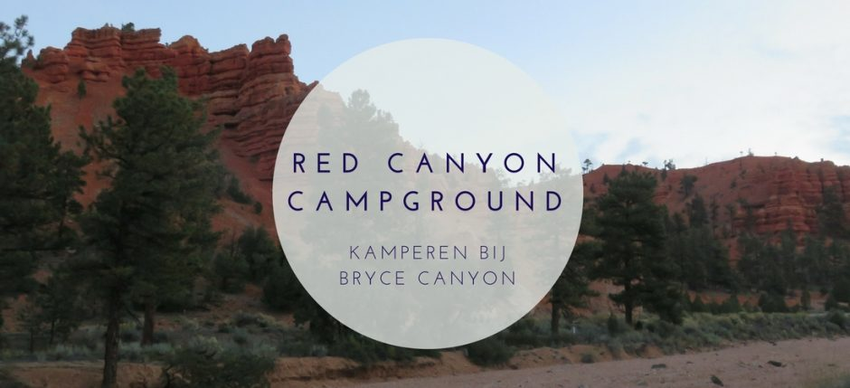 Red Canyon Campground Kamperen bij Bryce Canyon