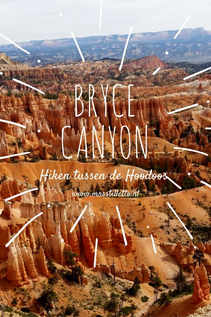 Bryce Canyon Hiken tussen de Hoodoos