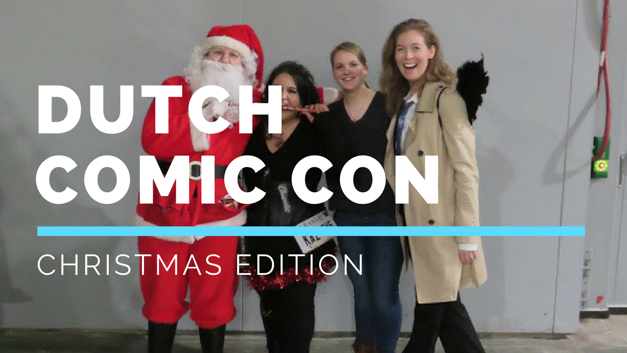 Dutch Comic Con Christmas Edition Supernatural