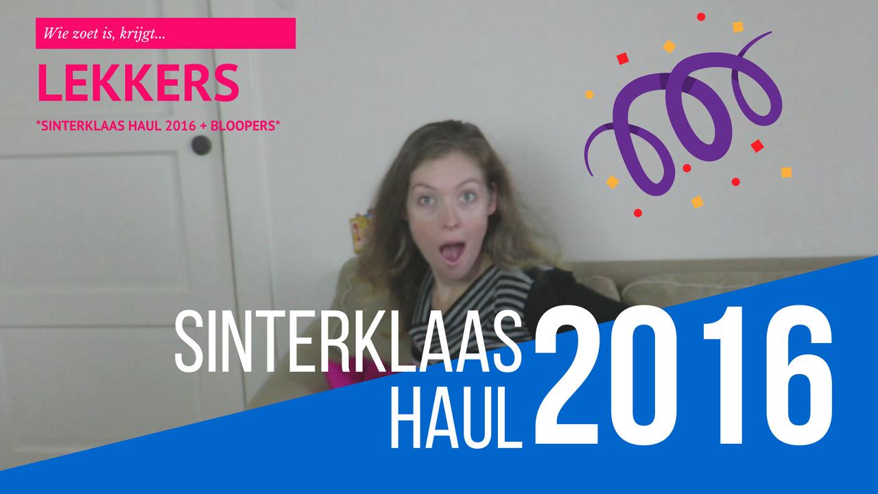 Sinterklaas haul 2016