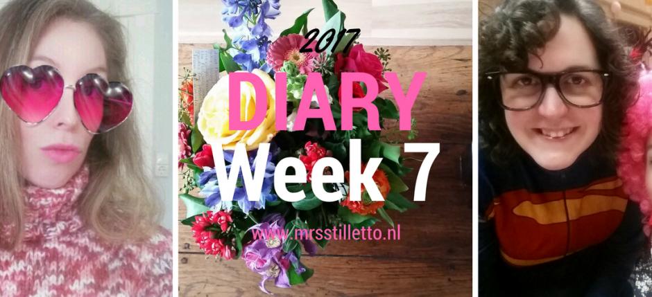 DIARY 2017 Week 7 Valentijnsdag 2017