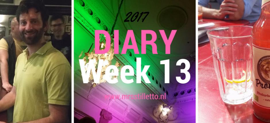 DIARY 2017 Week 13 Promoveren