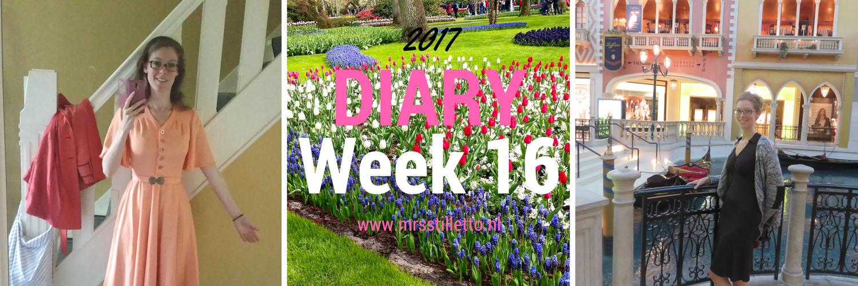 DIARY 2017 Week 16 Rosada