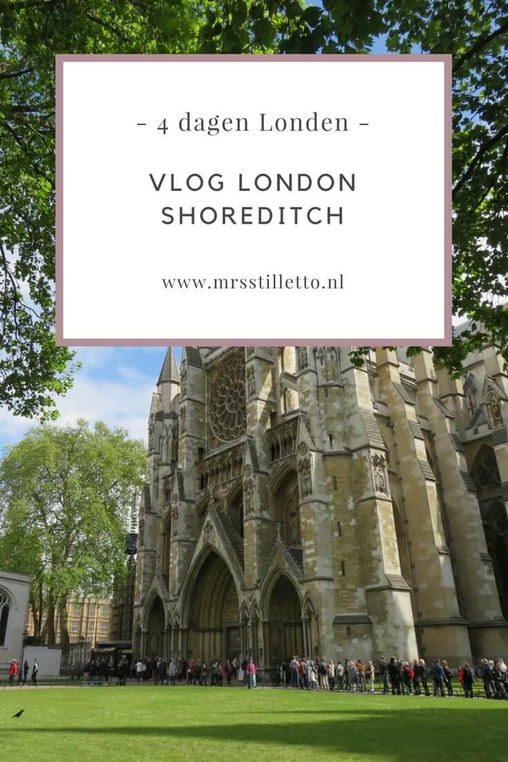 4 dagen londen VLOG London Shoreditch