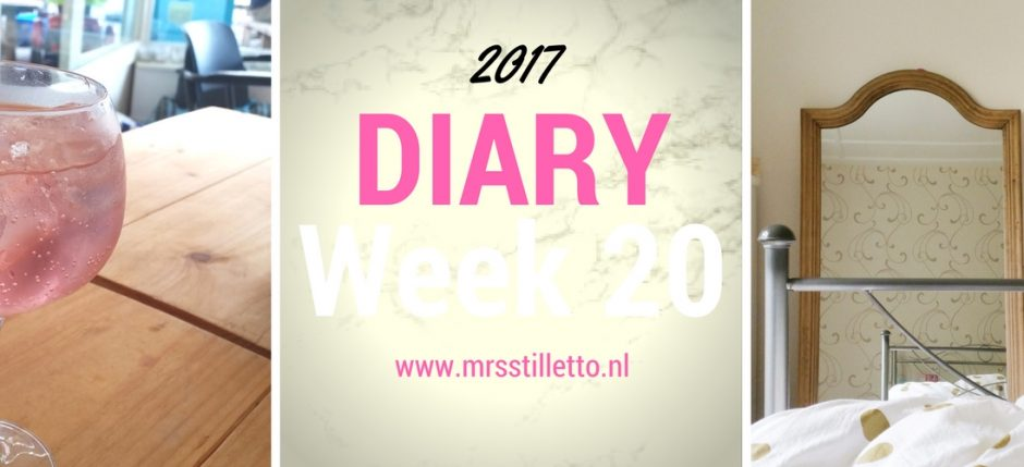 DIARY 2017 Week 20 Au mijn stuitje