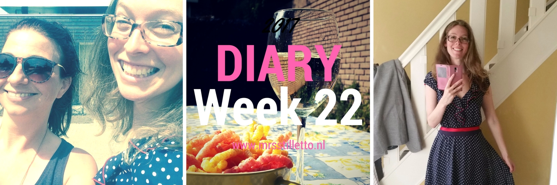 DIARY 2017 Week 22 con blues