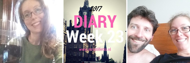 Diary 2017 Week 23 33 jaar oud Edinburgh