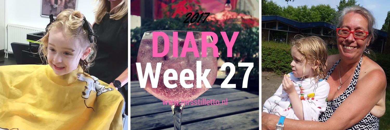 DIARY 2017 Week 27
