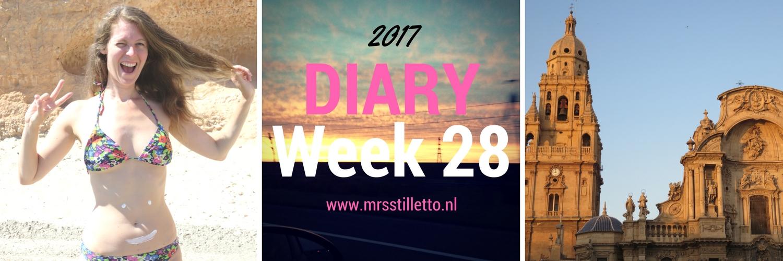 DIARY 2017 Week 28