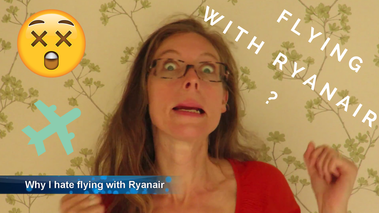 Why I hate flying with Ryanair - randomly seated