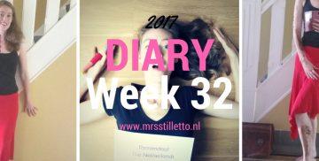 DIARY 2017 Week 32 laatste GISHWHES