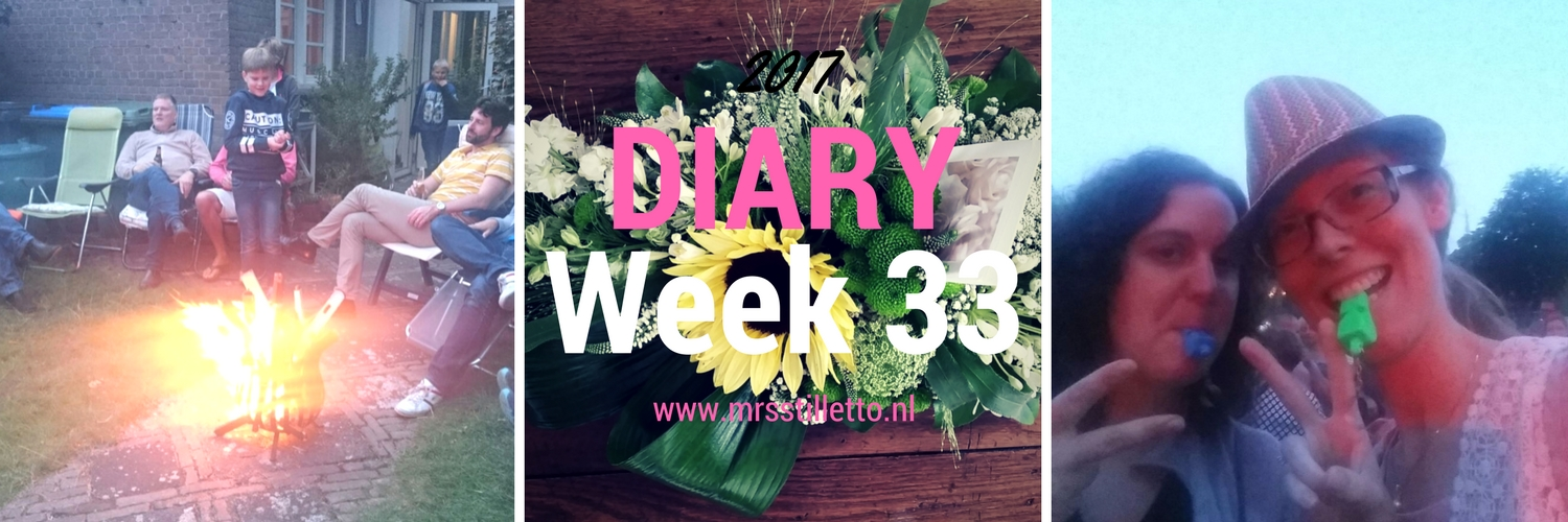 DIARY 2017 Week 33 crematie oma