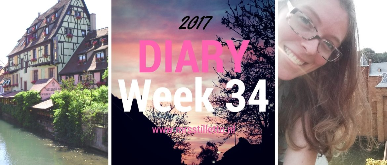DIARY 2017 Week 34 uitjes en catwalks