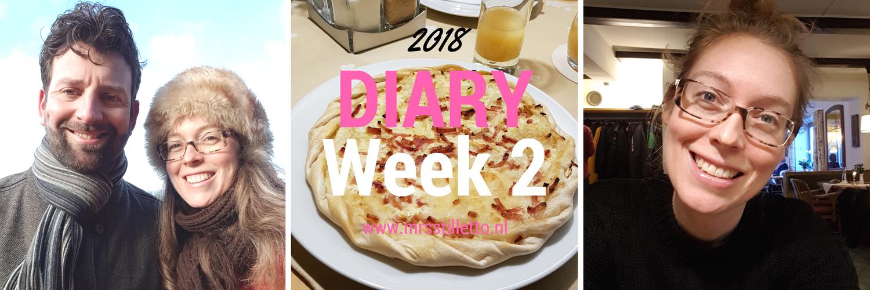 DIARY 2018 - Week 2 - Kickstart challenge