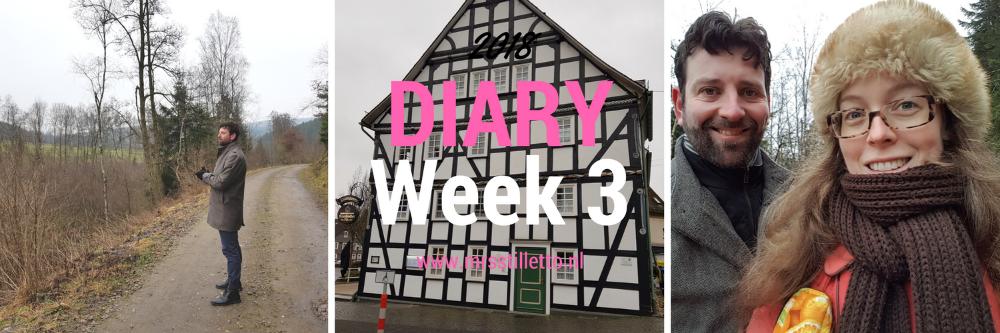DIARY 2018 - Week 3 - Sauerland