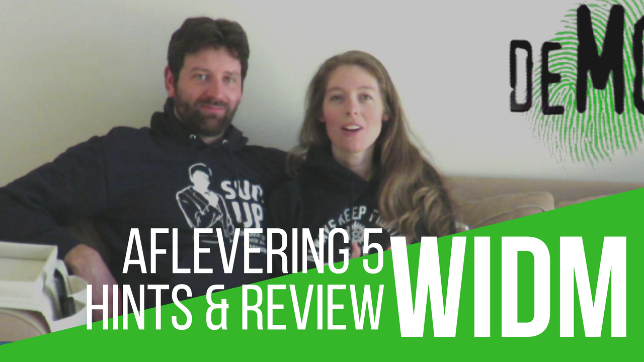 WIDM aflevering 5 hints en review