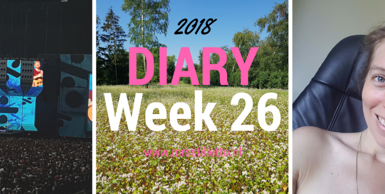 DIARY 2018 - Week 26 - Ed Sheeran