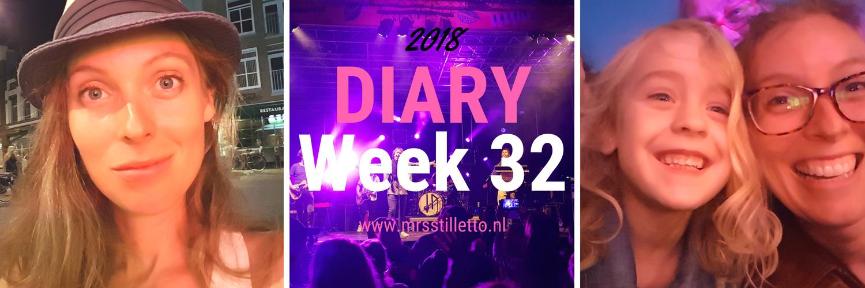 DIARY 2018 - Week 32 - Lokerse Feesten