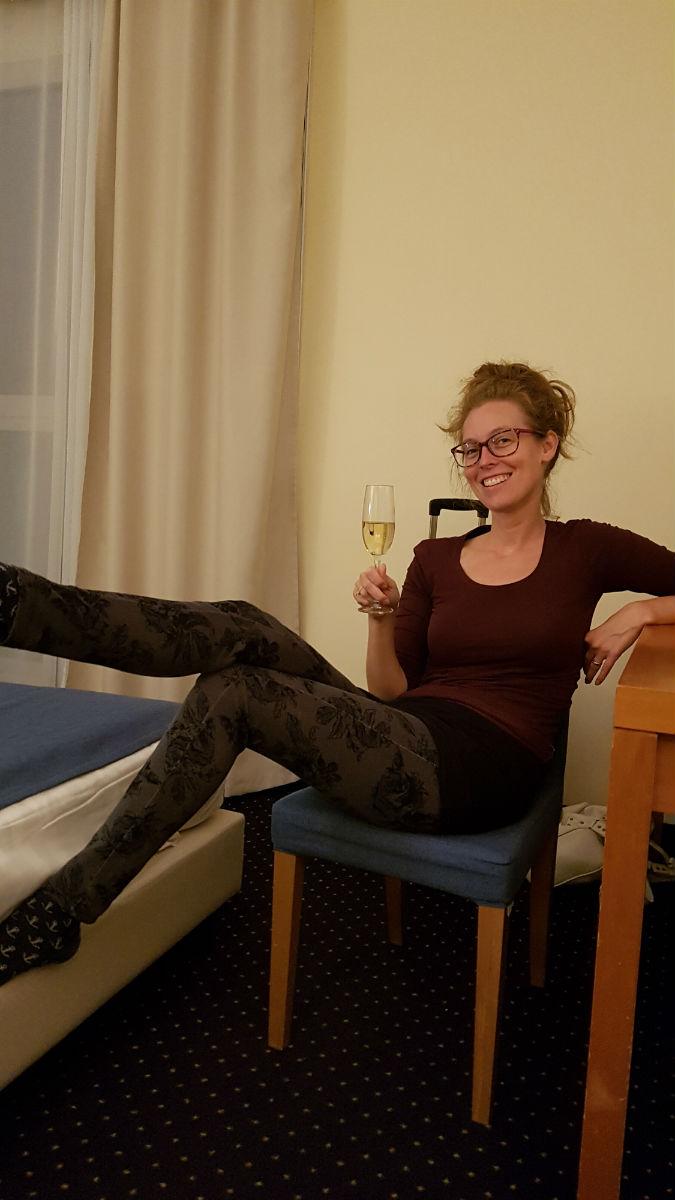 diary week 33 en 34 bioscopen en citytrip bubbels op de hotelkamer