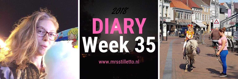 DIARY 2018 - Week 35 - Back to school