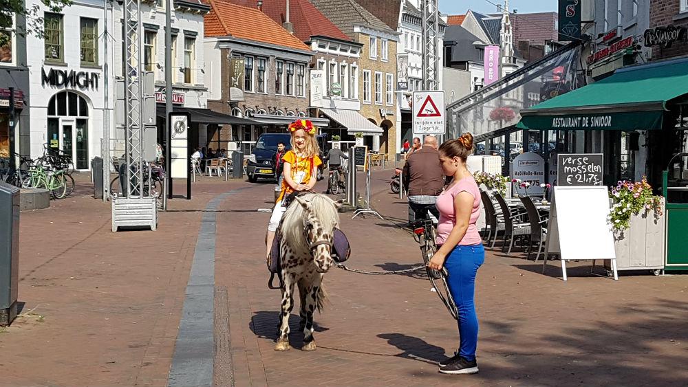 Diary 2018 Week 35 Back to school Astrid pony rijden kermis roosendaal