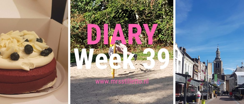 DIARY 2018 - Week 39 - Spuugzat