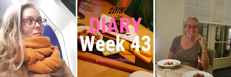 DIARY 2018 - Week 43 - vakantieweekend