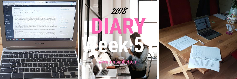 DIARY 2018 - Week 51