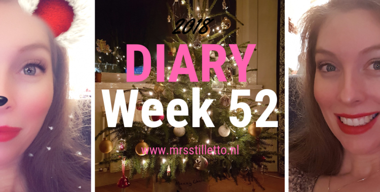 DIARY 2018 - Week 52